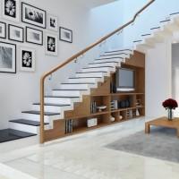 Thiết kế cầu thang kính, lan can kính sang trọng bền đẹp