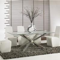 Những mẫu bàn ghế ăn kính tuyệt đẹp