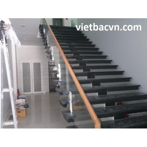 Cầu thang kính mẫu trụ TL01